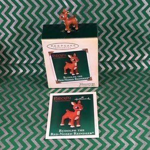 Vintage Hallmark Keepsake ornament - Rudolph